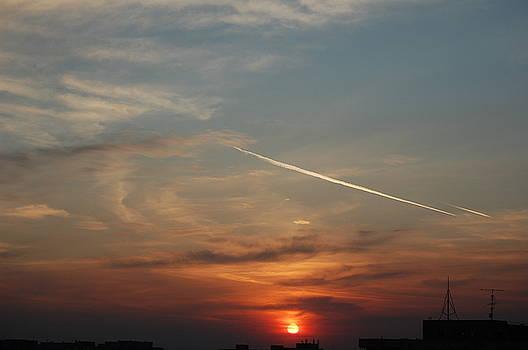 Quiet Sunset by Nicoleta Oproiu