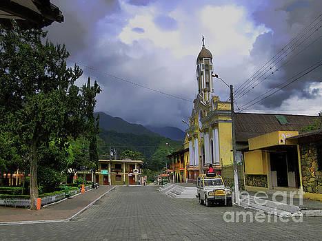 Quiet Vilcabamba, Ecuador by Al Bourassa