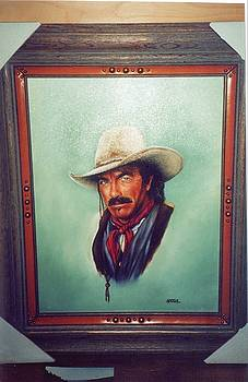 Quigley my version of Tom Selleck by Mahto Hogue