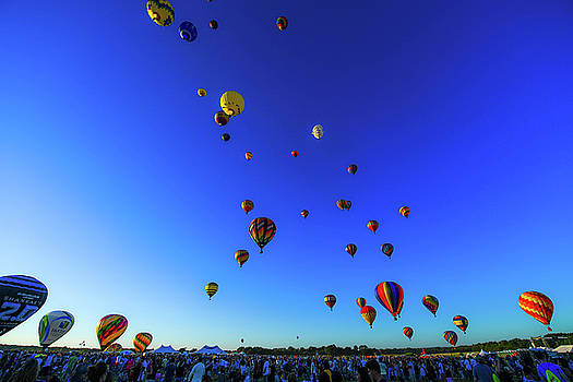 Quik Check Hot Air Balloon Festival by Mary D'Urso