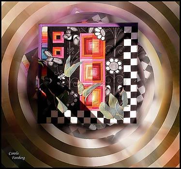 Quilt Art 7 by Carola Ann-Margret Forsberg