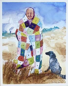 Quilt Woman by Jill Iversen