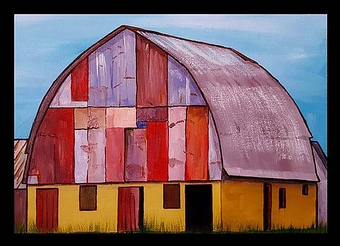 Quilted Barn 2 by Jim Harris