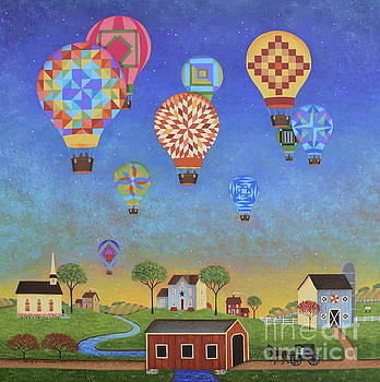 Quilted Sky by Mary Charles