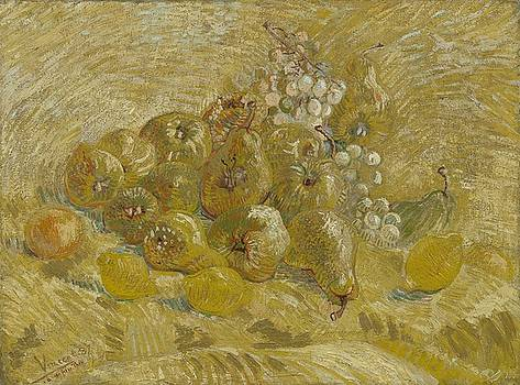 Quinces, Lemons Pears and Grapes Paris, September - October 1887 Vincent van Gogh 1853  1890 by Artistic Panda
