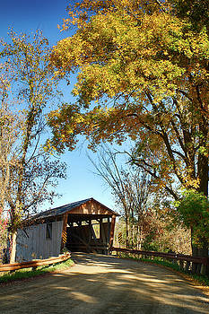 Quinlans covered bridge by Jeff Folger