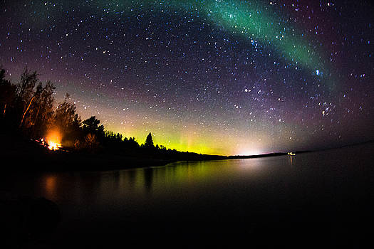 Quite The Night // North Shore, MN by Lloyd Fisher Photo