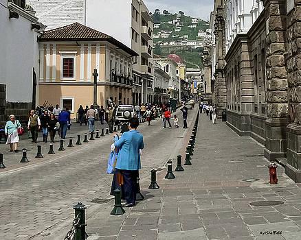 Allen Sheffield - Quito Ecuador Street Scene