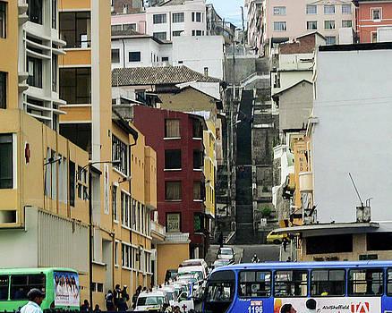 Allen Sheffield - Quito Ecuador - Tall Street