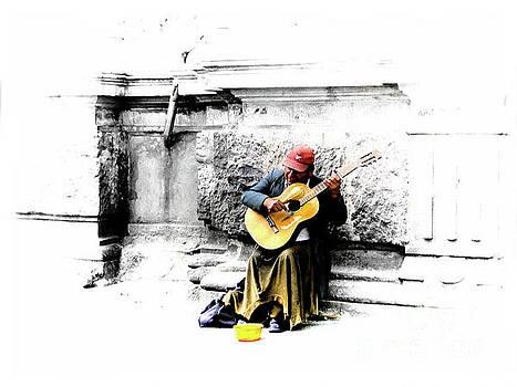 Quito Street Musician II by Al Bourassa