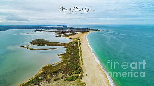 Quonochontaug Beach by Michael Hughes