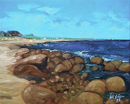 Quonocontaug West Beach by Erik Schutzman