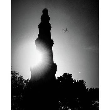 Qutab Minar is A Soaring, 73 M-high by Rajesh Yadav