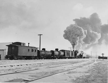 Chicago and North Western Historical Society - R-1 Locomotive in Cold Weather