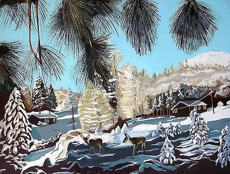 R-Ranch snow by Olga Kaczmar