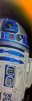 R2-d2ah by Nephtali Brugueras  jr