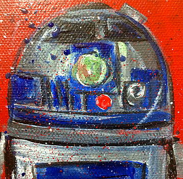 R2d2 by Mary Gallagher-Stout