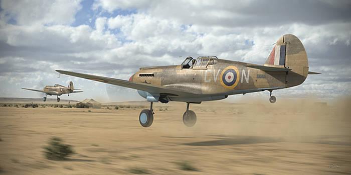 RAAF Tomahawks by Robert Perry