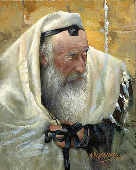 Rabbi by Victor Mordasov