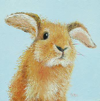 Jan Matson - Rabbit painting - Thomas