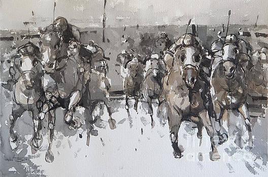 Race 18 by Tony Belobrajdic