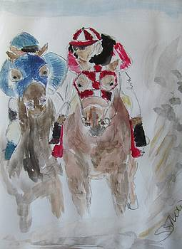 Race Day by Susan Snow Voidets