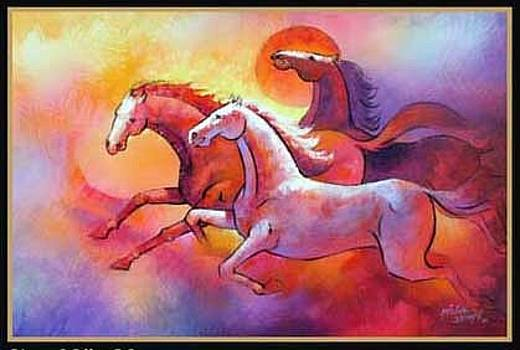 Race by Milind Shimpi