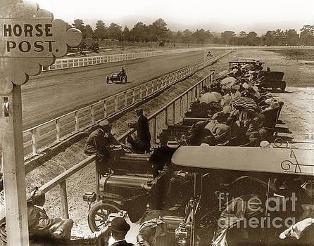California Views Mr Pat Hathaway Archives - Race track at Hotel Del Monte Monterey CA. Circa 1906