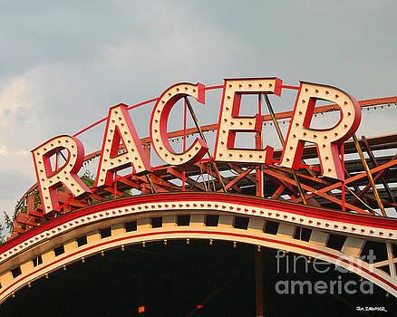 Racer Coaster Kennywood Park by Jim Zahniser