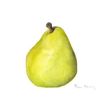 Rachel's pear by Fran Henig