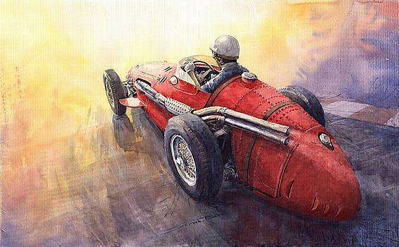 Racing Light Maserati 250 F by Yuriy  Shevchuk
