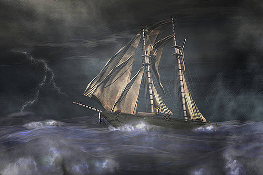 Racing the storm by Carol and Mike Werner