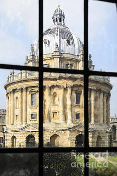 Radcliffe Camera Abstract by Michael  Winters