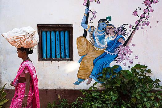 Radha Krishna by Marji Lang