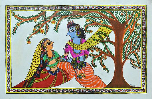 Radha Krishna  by Shruti Prasad