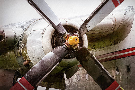 Radial Engine and Prop - Fairchild C-119 Flying Boxcar by Gary Heller