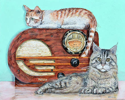 Radio Cats by Chris Dreher