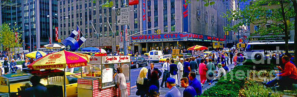 Radio City Music Hall lunch Soups On by Tom Jelen