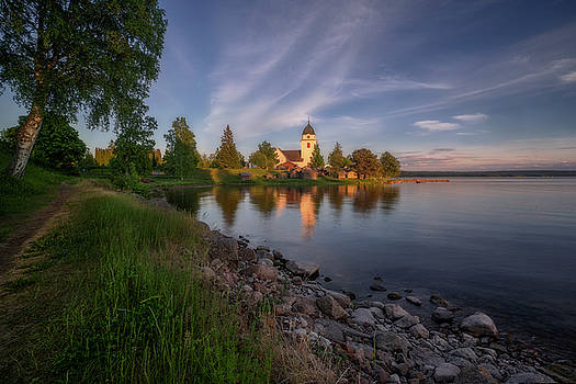 Raettviks Church  by Ludwig Riml