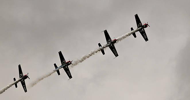RAF Scampton 2017 - Global Stars In A Line by Scott Lyons