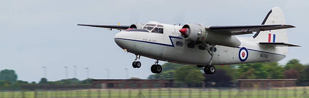 RAF Scampton 2017 - Hunting Percival P 66 Pembroke Taking Off by Scott Lyons