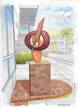 Rafe Affleck sculpture untitle in Beverly Hills, California by Carlos G Groppa