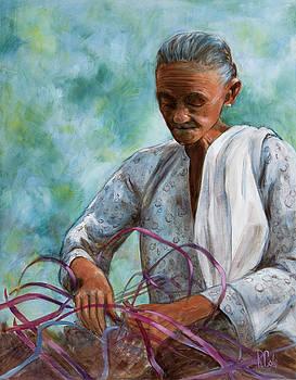 Rafia Artist - India by Ray Cole