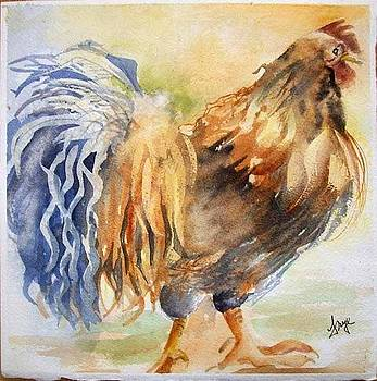 Raggy Rooster by Karen Frye