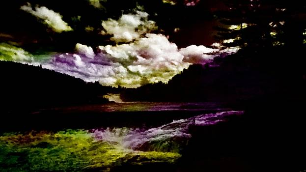Mike Breau - Raging Androscoggin River at Rumford Falls Maine