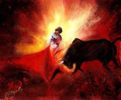 Raging Bull by Kiran Kumar