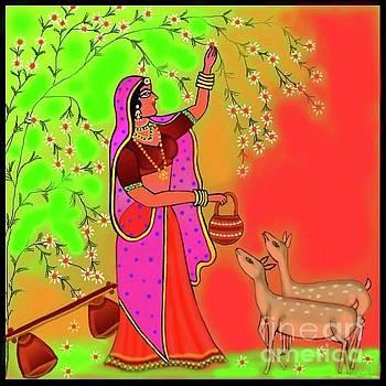 Ragini-Todi by Latha Gokuldas Panicker