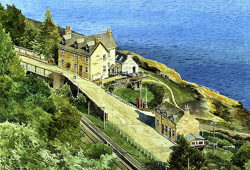 Rail Station Scotland by William Band