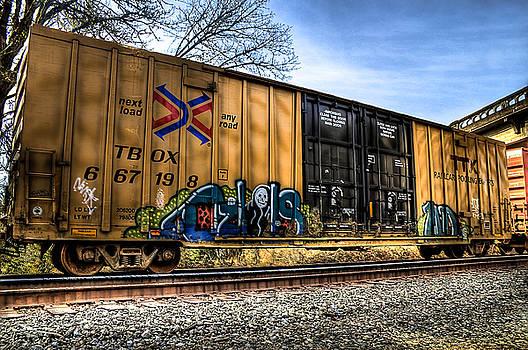 Railroad Art by Tyra OBryant