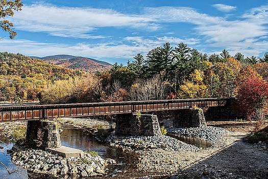 Robert Hayes - Railroad Bridge Across the Wild River, Gilead, Maine